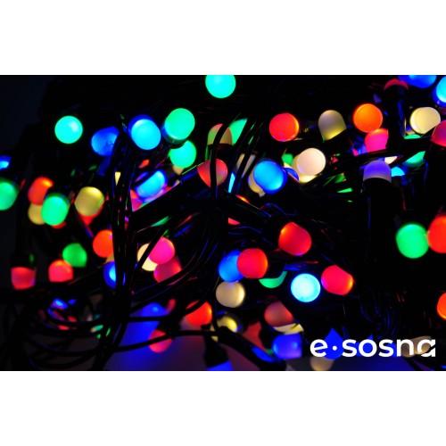 Гирлянда Линза 300 LED 20 м мульти